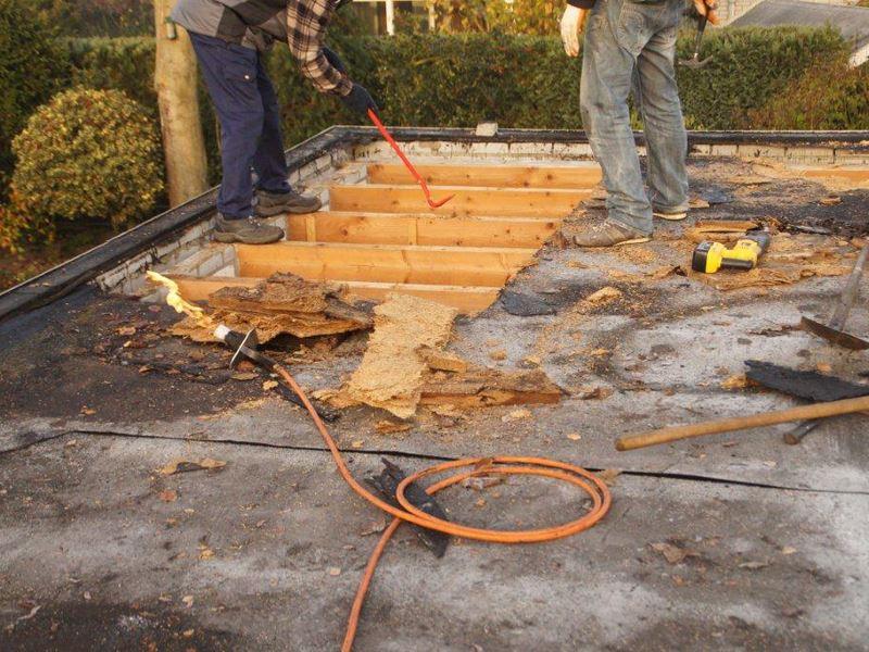 renovatie plat dak